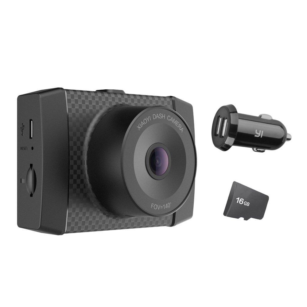 YI Ultra Dash Camera z H.265 + karta microSD