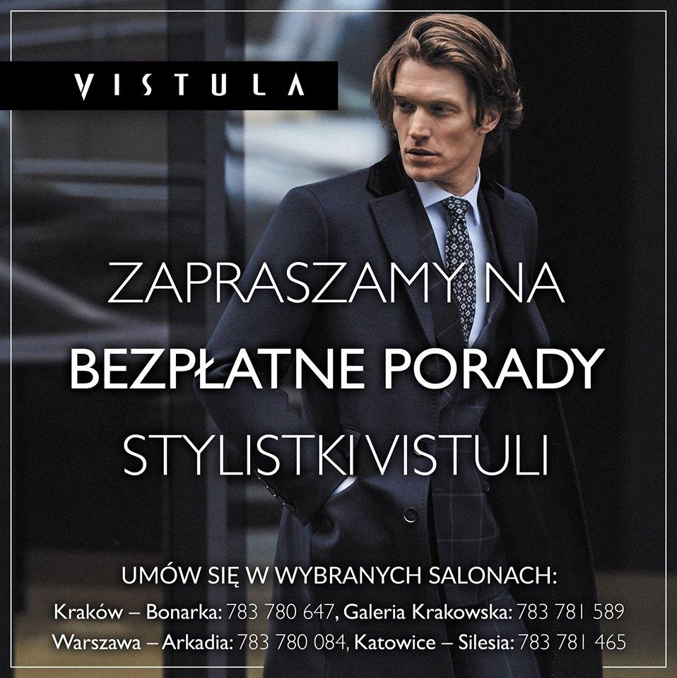 Bezpłatne porady stylistki (Kraków, Warszawa, Katowice) @ Vistula