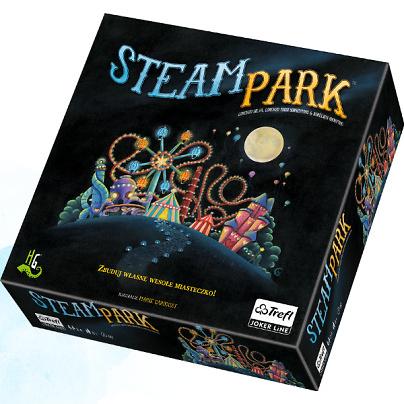 Steam Park gra planszowa