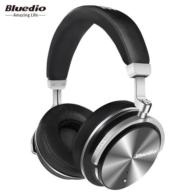 Słuchawki bezprzewodowe Bluedio Turbine T4S (ulepszona wersja T4), BT4.2, ANC w cenie niższych modeli