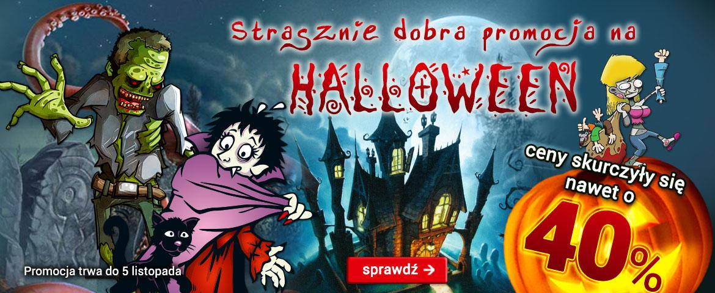 Wybrane planszówki tańsze na Halloween - Wieża Duchów za 41,06zł, Czarne Historie za 24,99zł @ Gry Planszowe