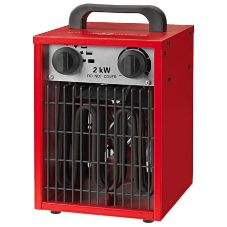 Nagrzewnica elektryczna 2 kW Regularne ceny od 120 zł z wysyłką.
