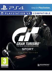 Gran Turismo Sport [Day One Edition] na Playstation 4 za ~179zł @ Simply Games