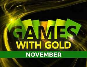 Games with Gold listopad 2017 Xbox One
