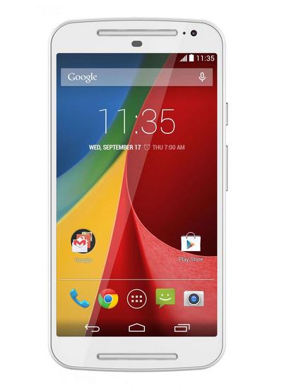 Motorola Moto 2 Gen. Biała (5', 8GB, 4x1.2GHz, Gorilla Glass 3, Dual SIM) @ X-kom