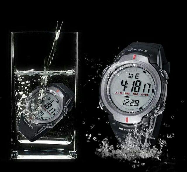 Zegarek sportowy Synoke.Wodoszczelny - sprawdzałem ;)