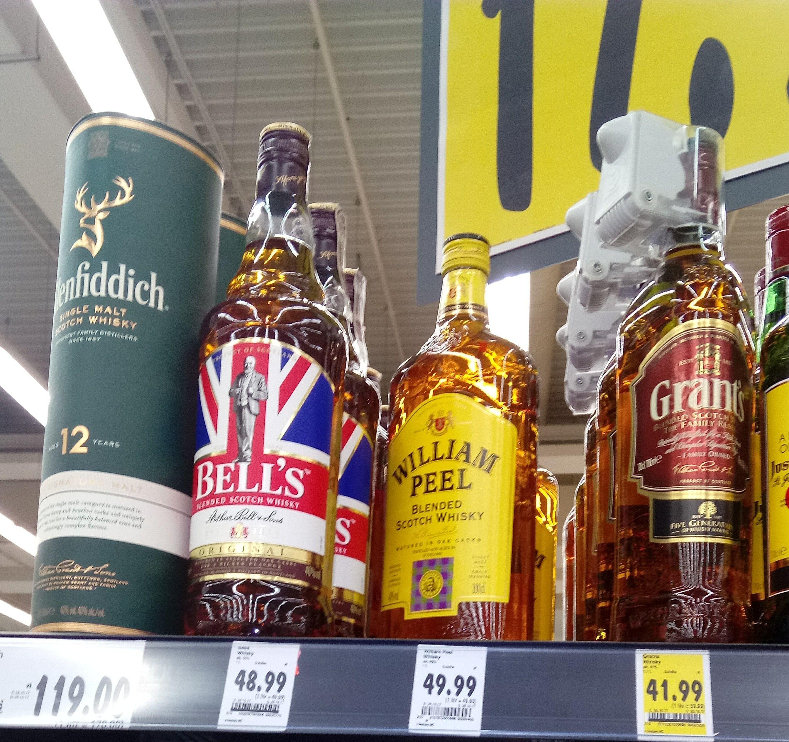 Kaufland - whisky Bell's 1l i inne