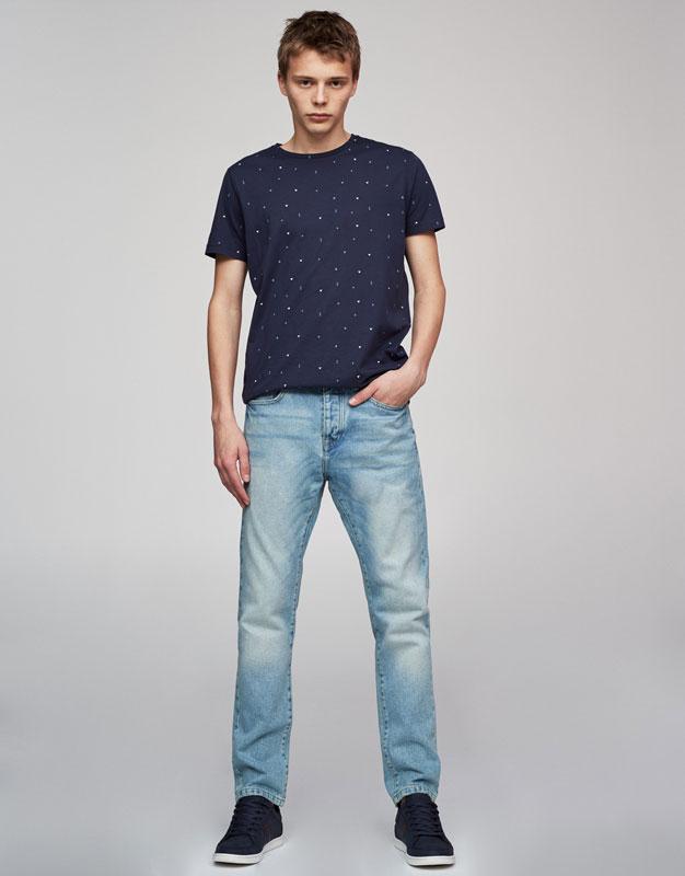 Męskie dżinsy za 62,90zł z dostawą @ Pull&Bear