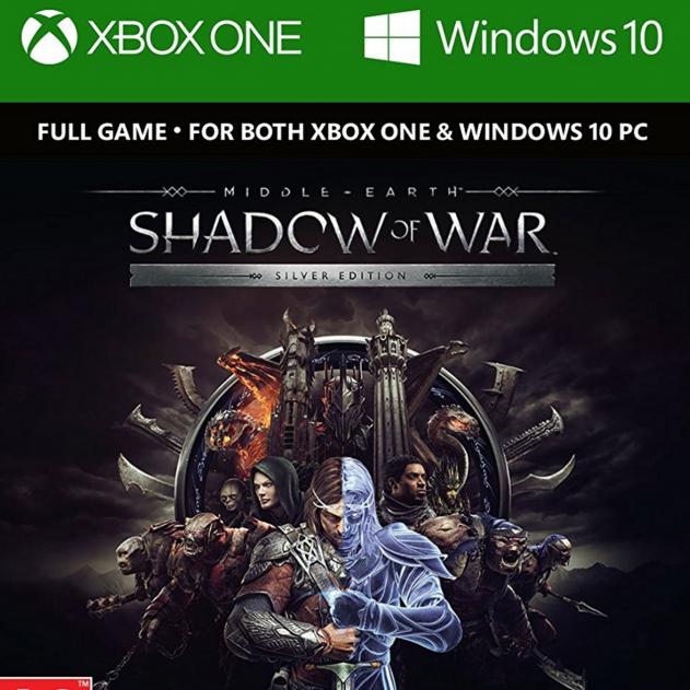 Middle-Earth: Shadow of War Silver Edition (Xbox One / PC) za ~23zł @ CDKeys