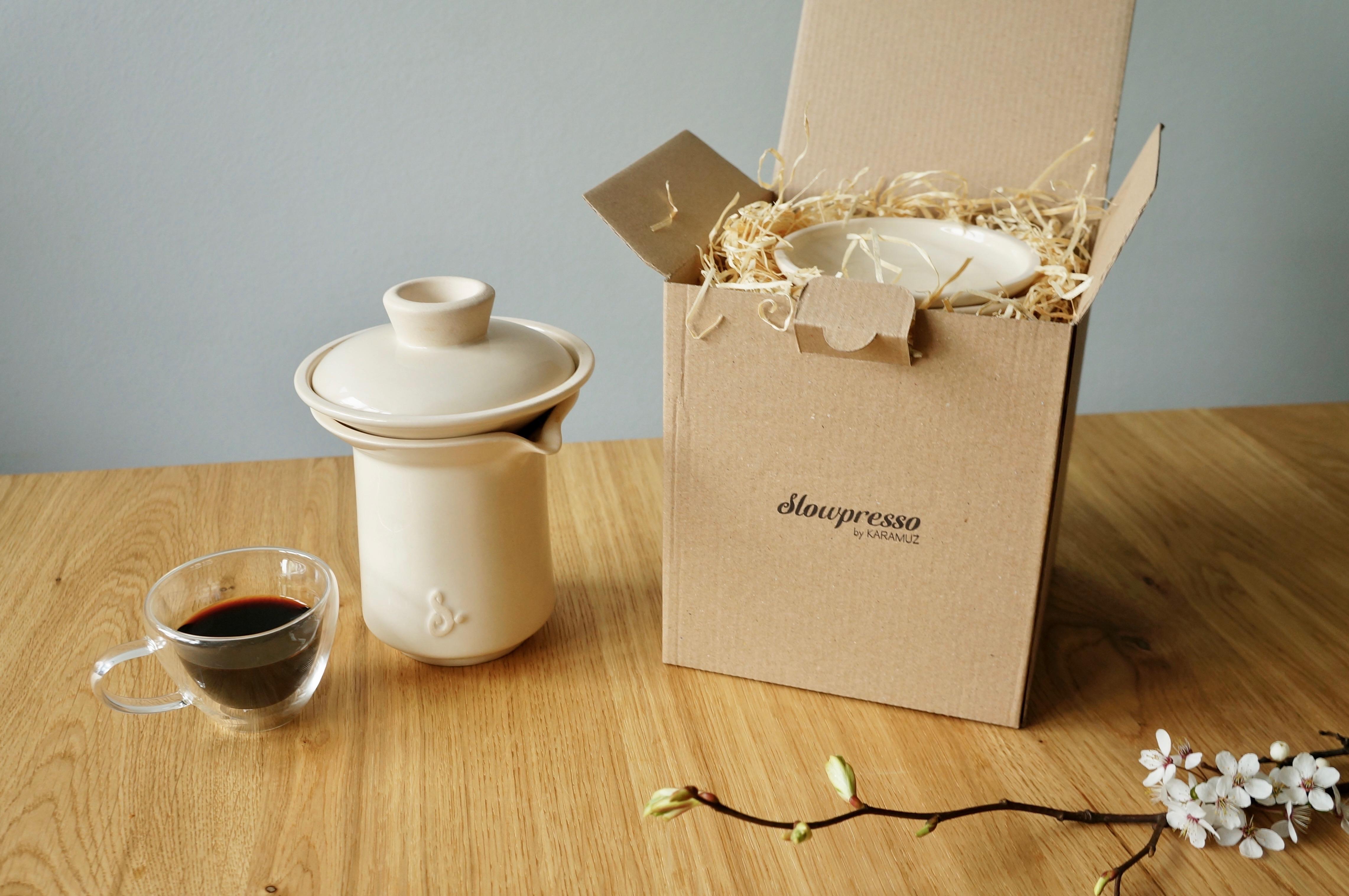Zestaw do robienia kawy Slowpresso 20% taniej