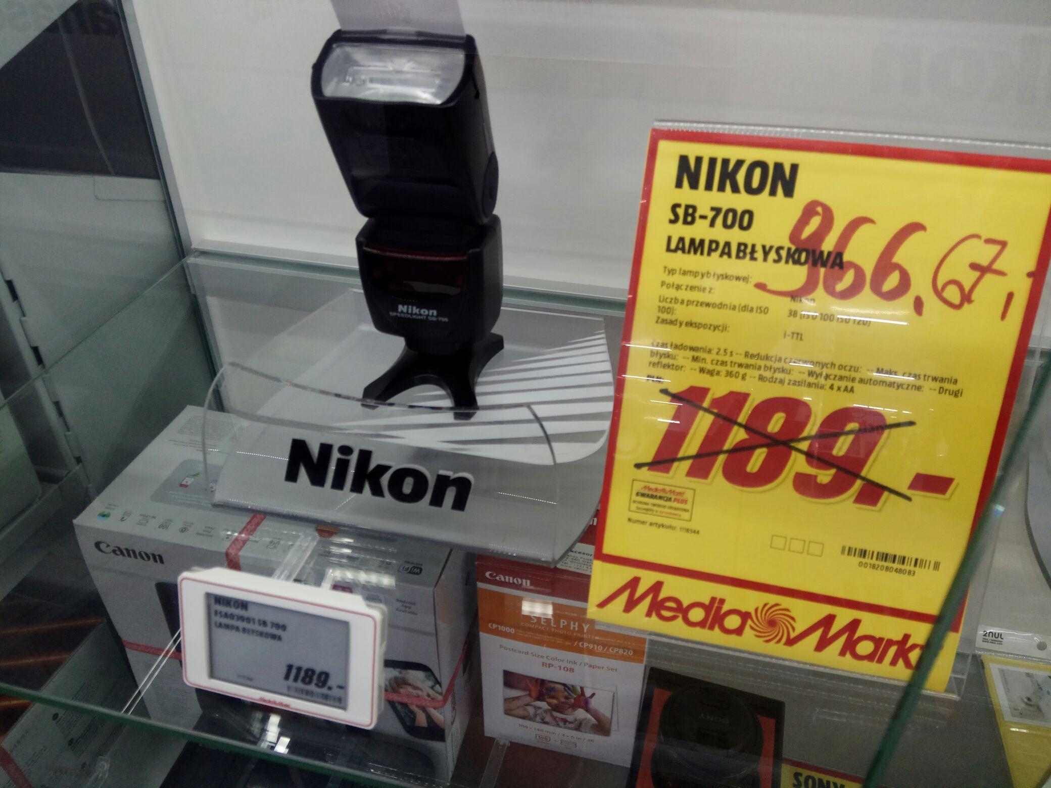 Lampa Nikon SB-700 bez Vat-u!