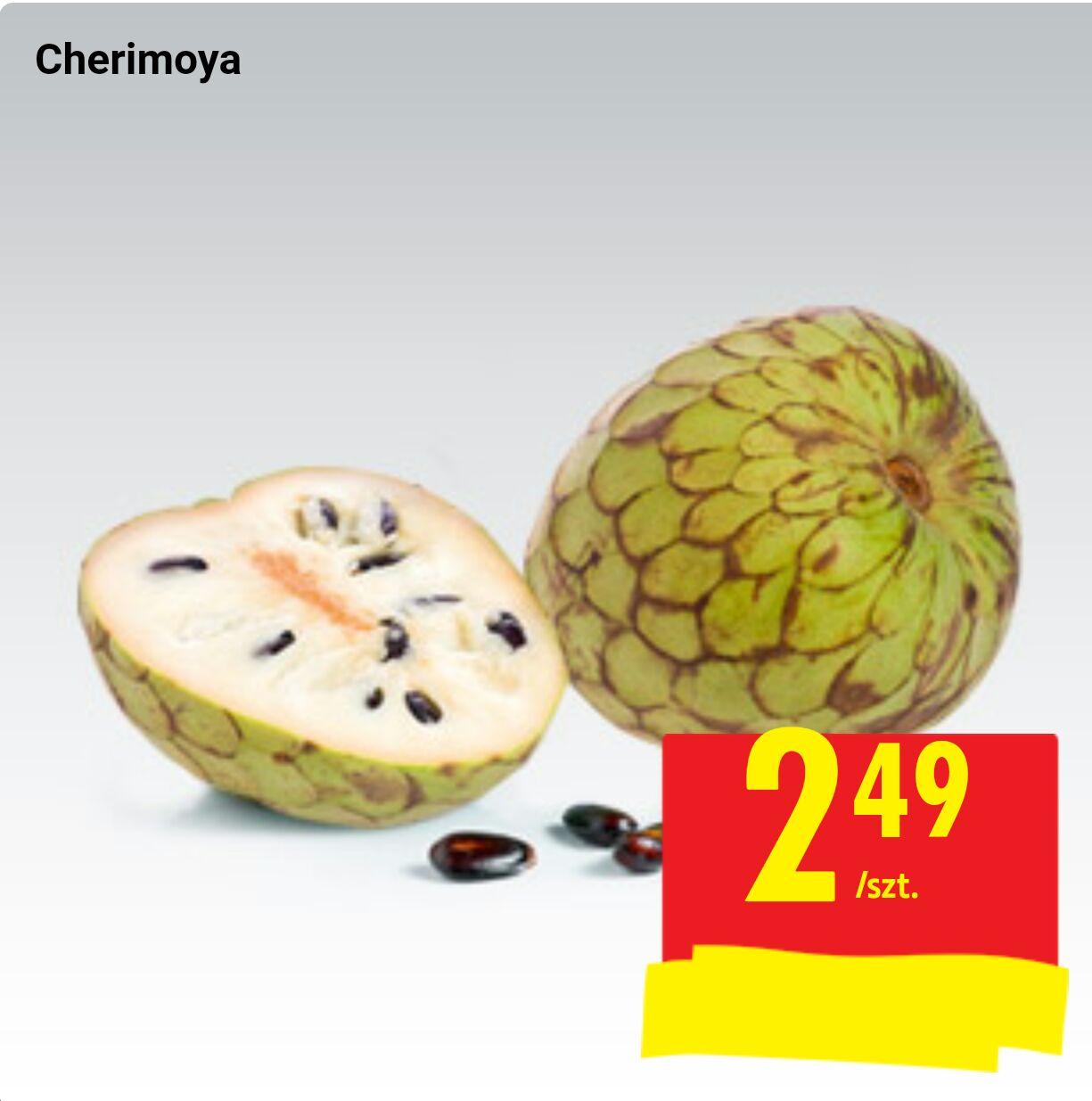 Cherimoya w Biedronce