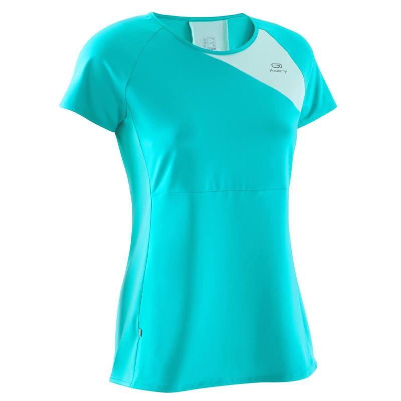 Damska koszulka do biegania krótki rękaw Kalenji Run Dry+