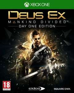 Deus Ex Mankind Divided Xbox ONE + PS4