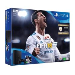 PlayStation 4 500GB FIFA 18 + Doom + Dishonored 2 + Fallout 4