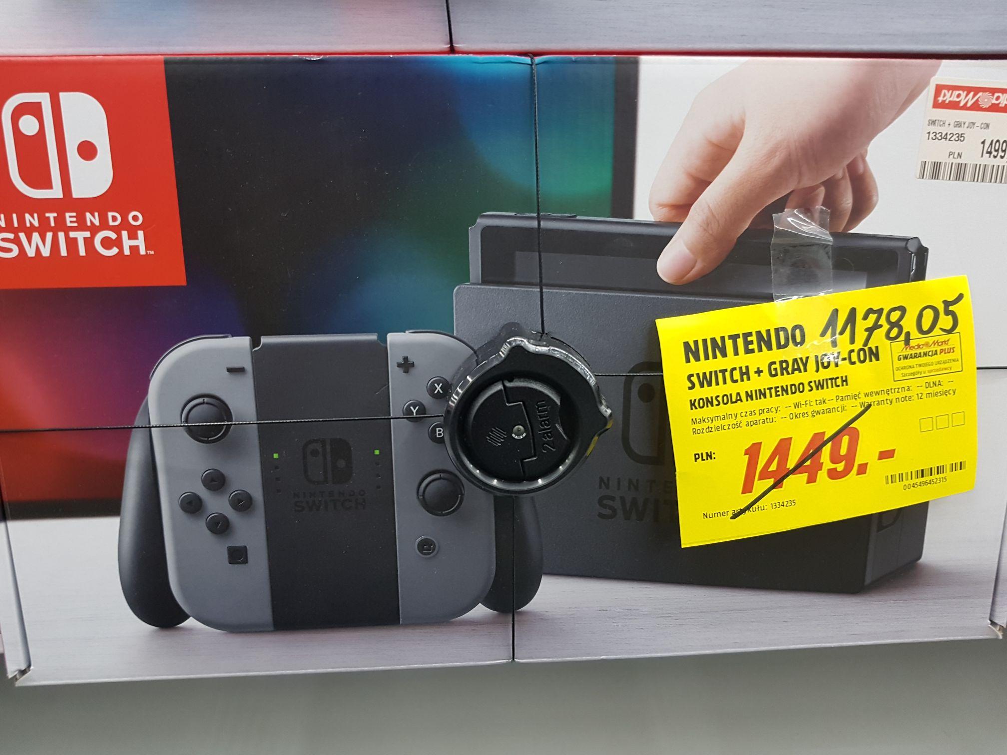 Nintendo switch w mediamarkt (Siedlce)