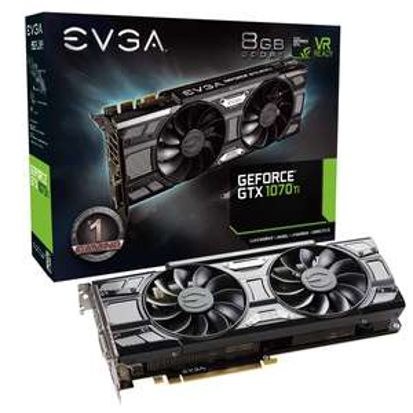 Preorder na premierową kartę graficzną EVGA NVidia GTX 1070 Titanium