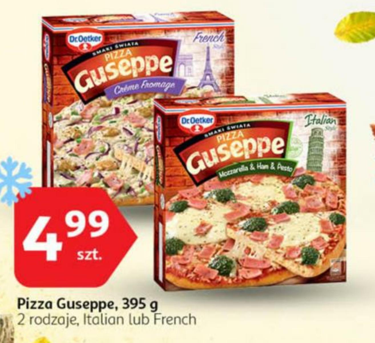 Od 02.11.2017 Pizza Guseppe @Auchan