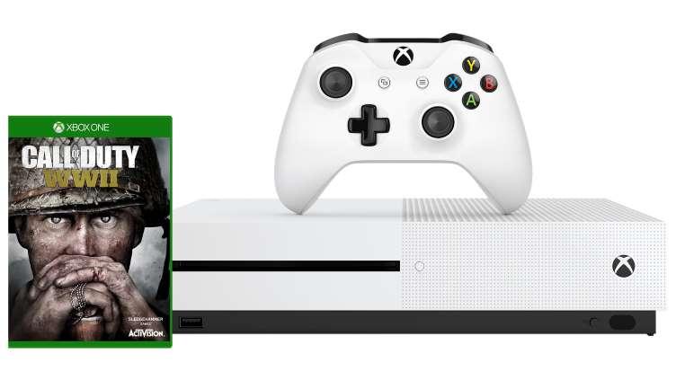 Xbox One S 500 GB + Call Of Duty WWII + Assasin's Creed Origins (lub inna gra)