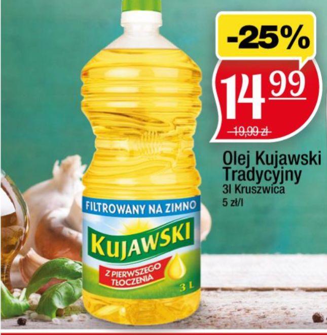Olej kujawski rzepakowy 3l