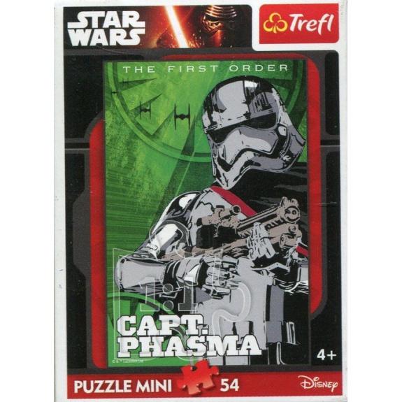 Wyprzeedaż - Puzzle 54 Mini Star Wars VII Capt. Phasma  za 2,50 w Pewex.pl