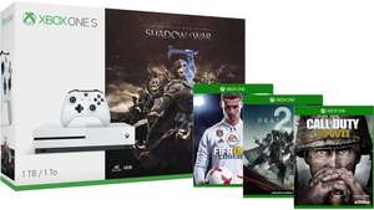 Xbox One S 500GB + 3 gry za 1001zł lub 1TB + 3 gry za 1145zł @ MIcrosoft (UK)