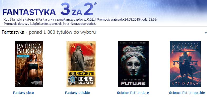 Fantastyka 3 za 2 (Empik)