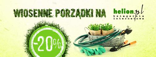 Helion.pl -20% na książki i ebooki do 25 marca