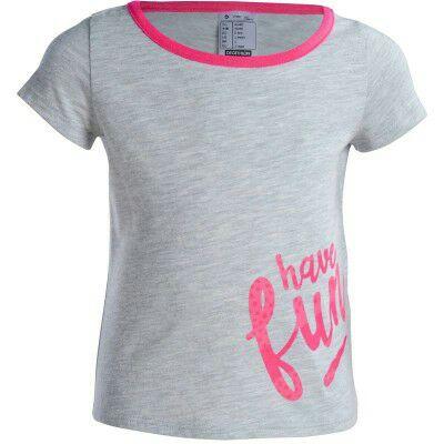 Dziewczęca koszulka Domyos 1-3 lat @ Decathlon