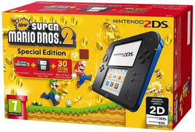 Nintendo 2DS Black + New Super Mario Bros 2 @ Komputronik