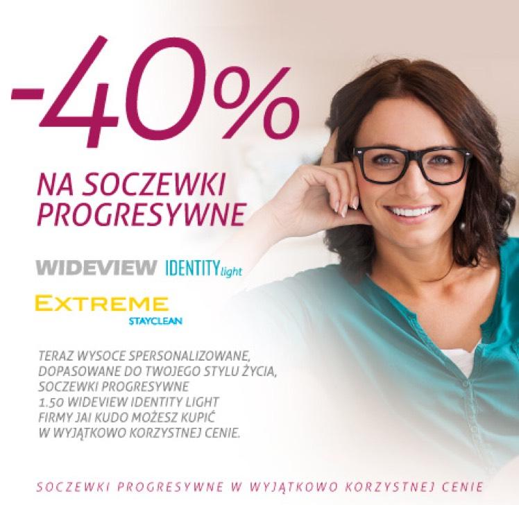 Okulary progresywne -40%