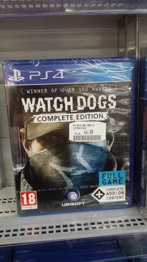 Watch Dogs PS4 Complete Edition SATURN