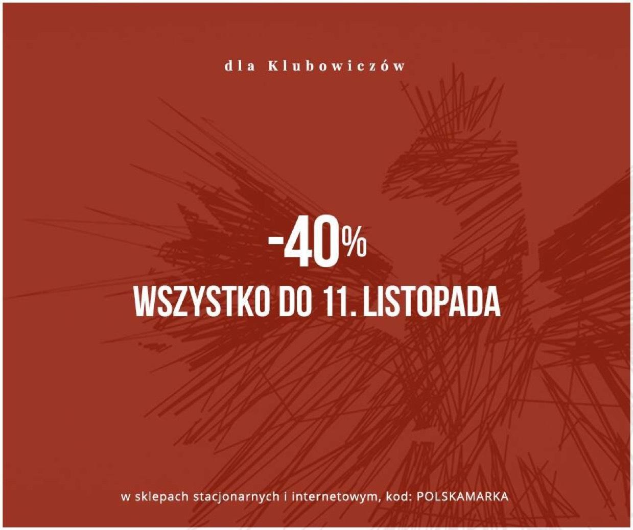 -40% na wszystko w sklepach Bytom dla klubowiczów