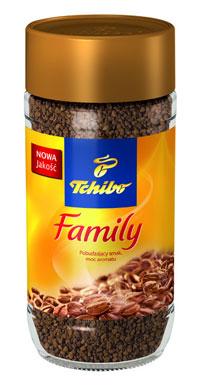 Kawa rozpuszczalna Tchibo Family w cenie 11,99zł/200g @ Intermarche