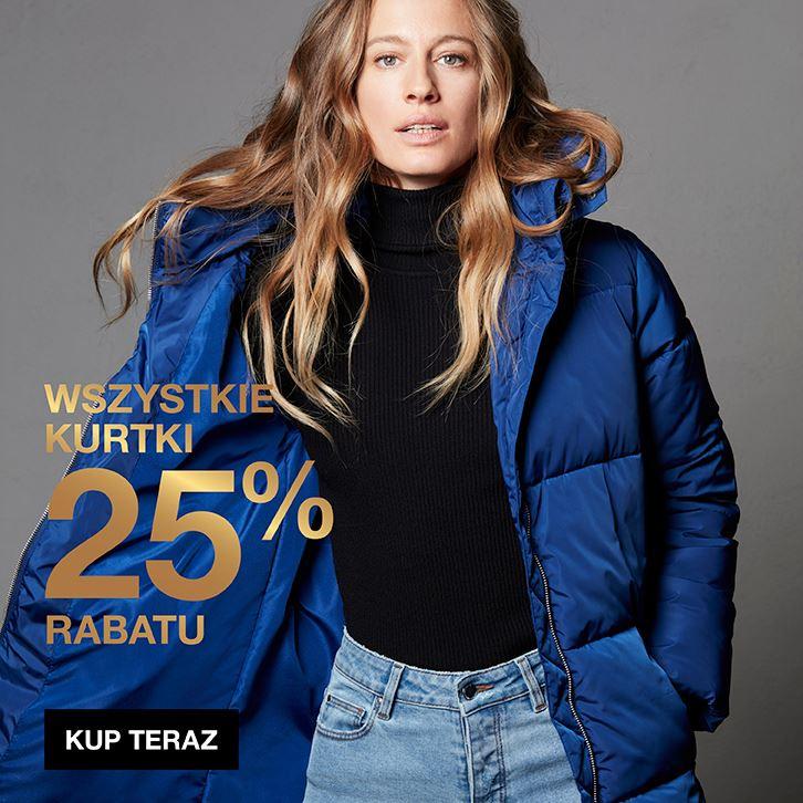 -25% na wszystkie kurtki i akcesoria oraz damską bieliznę @ Cubus