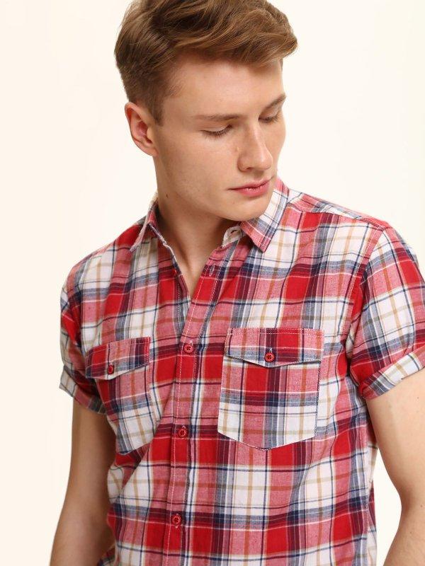 Męska koszula z krótkim rękawem za 20zł (-50zł, pełna rozmiarówka) @ Top Secret