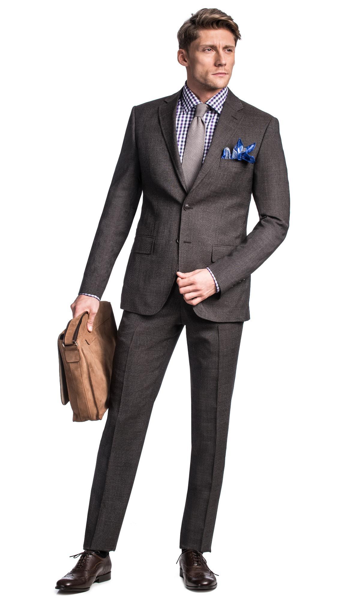 Próchnik -60% (- 1 000zł) na wysokiej jakości wełniany garnitur