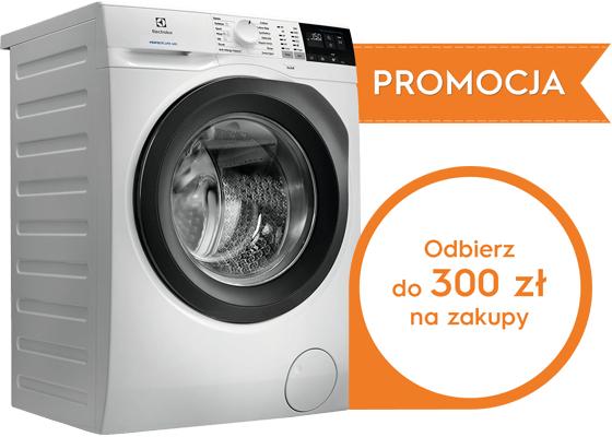 Do 300zl na zakupy w Zalando za zakup pralki lub pralko suszarki Elektrolux