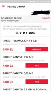 Virgin Mobile - 1GB za 2zł