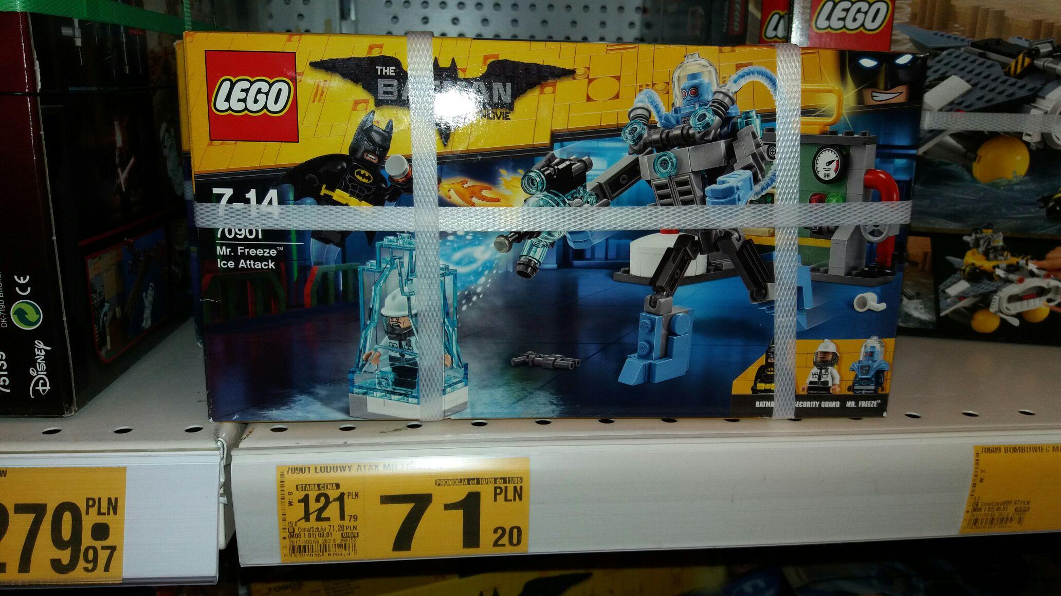 Lego The Batman Movie Lodowy Atak Mr. Freeze 70901