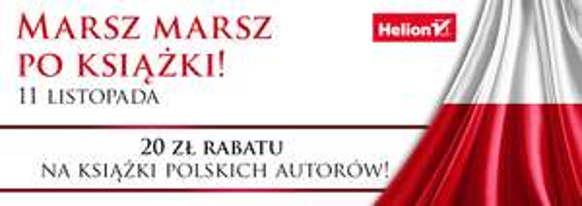 [11.11] Rabat 20 zł na polskich autorów @ Helion