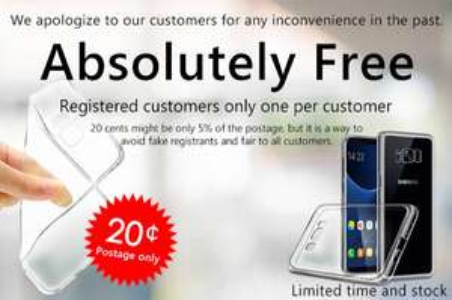 Samsung S8 Case za free - płacimy za dostawę