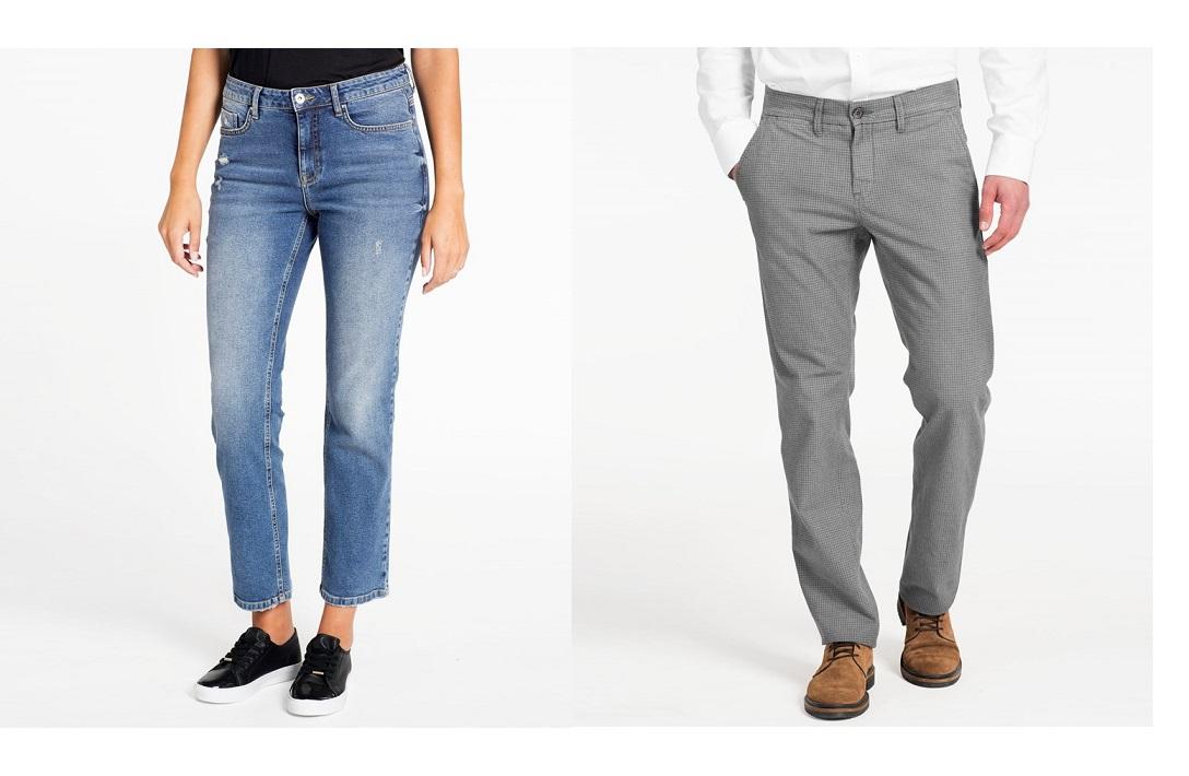 Damskie dżinsy za 45zł (-105zł), męskie spodnie za 75zł (-175zł) @ KappAhl