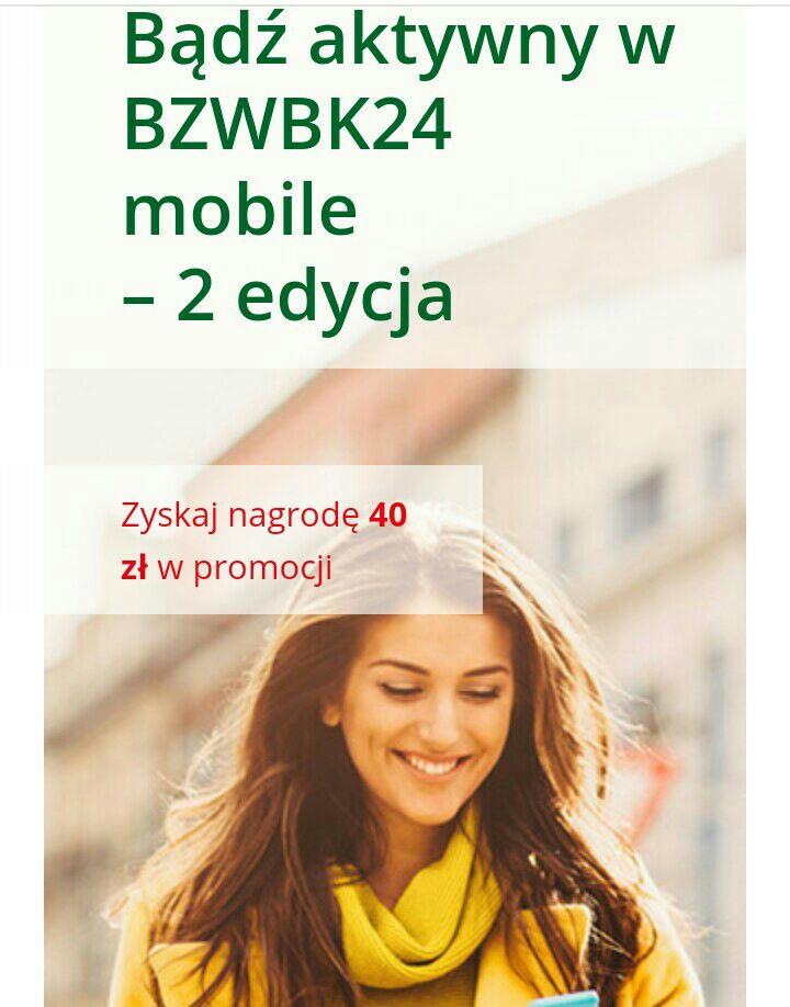 2 x 20zł w bonach Sodexo za 4 operacje mobilne @bzwbk