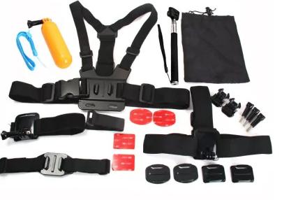 23 elementowy zestaw akcesoriów do kamerki sportowej
