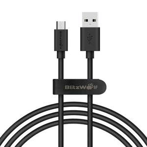 BlitzWolf® BW-CB7 2.4A 3.33ft/1m Micro USB Charging Data Cable With Magic Tape Strap-  7,43 PLN