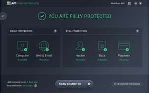 AVG Internet Security 2018 PC/ANDROID/IOS - ZA DARMO PRZEZ ROK !