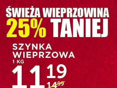 Mięso wieprzowe 25% taniej @ Lidl