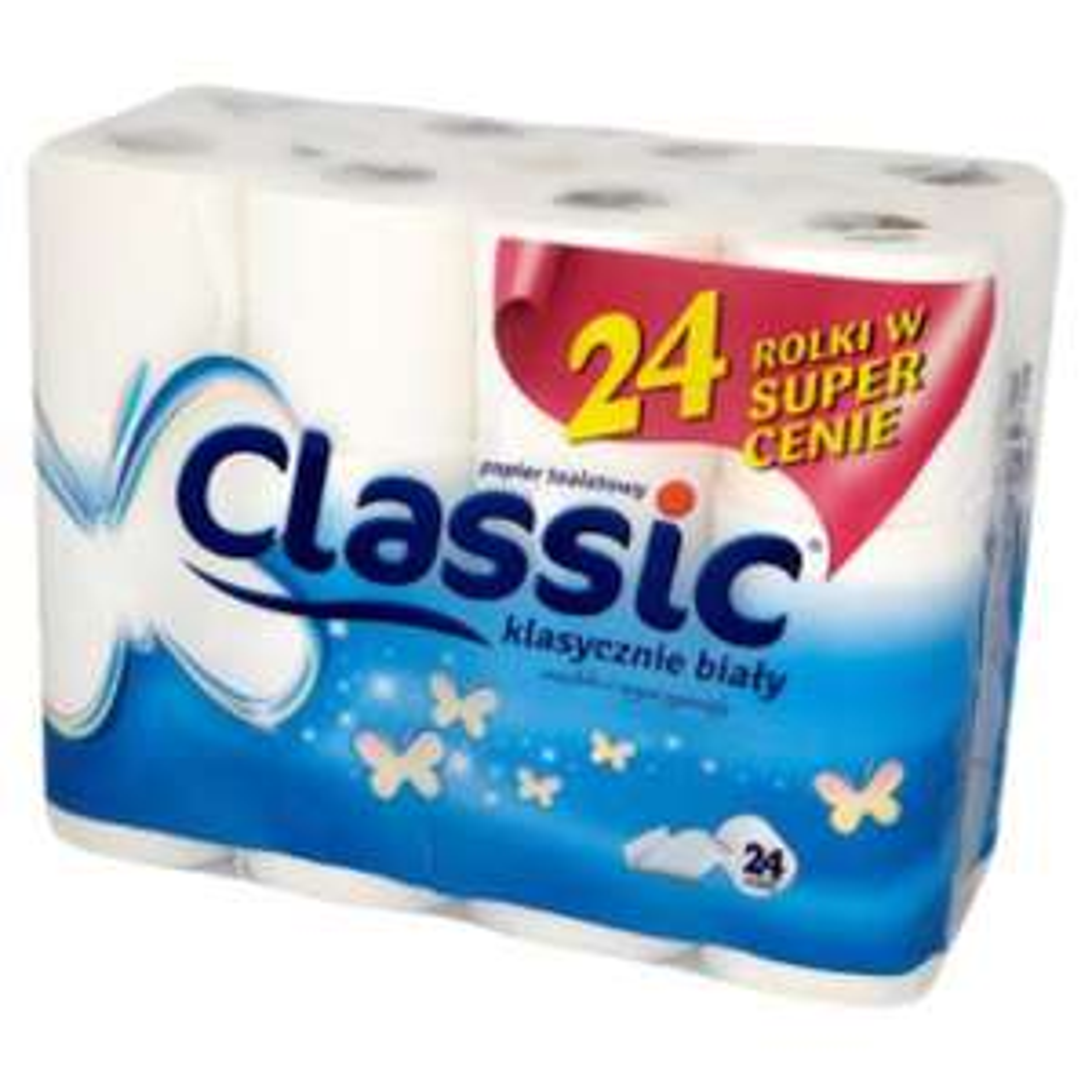 24 Rolki papieru toaletowego. Tesco