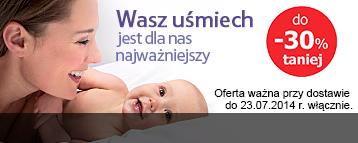 atrakcyjne promocje na asortyment dla dzieci oraz niemowlaków (Gerberki, chusteczki, pieluchy) @ Tesco